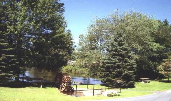 Water Wheel Pine Valley Plantation